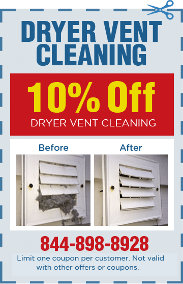 Dryer Vent Cleaning Coupon